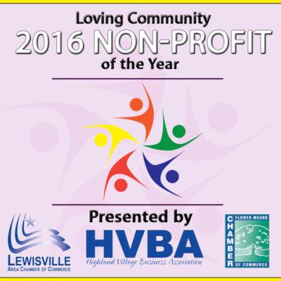 Non Profit Award - 2016 Badge