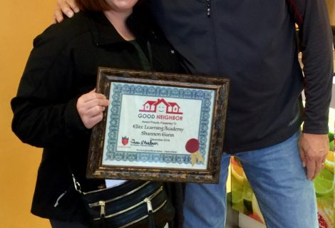 Elite Learning Academy and Founder Shannon Gunn Recipient of December Good Neighbor Award