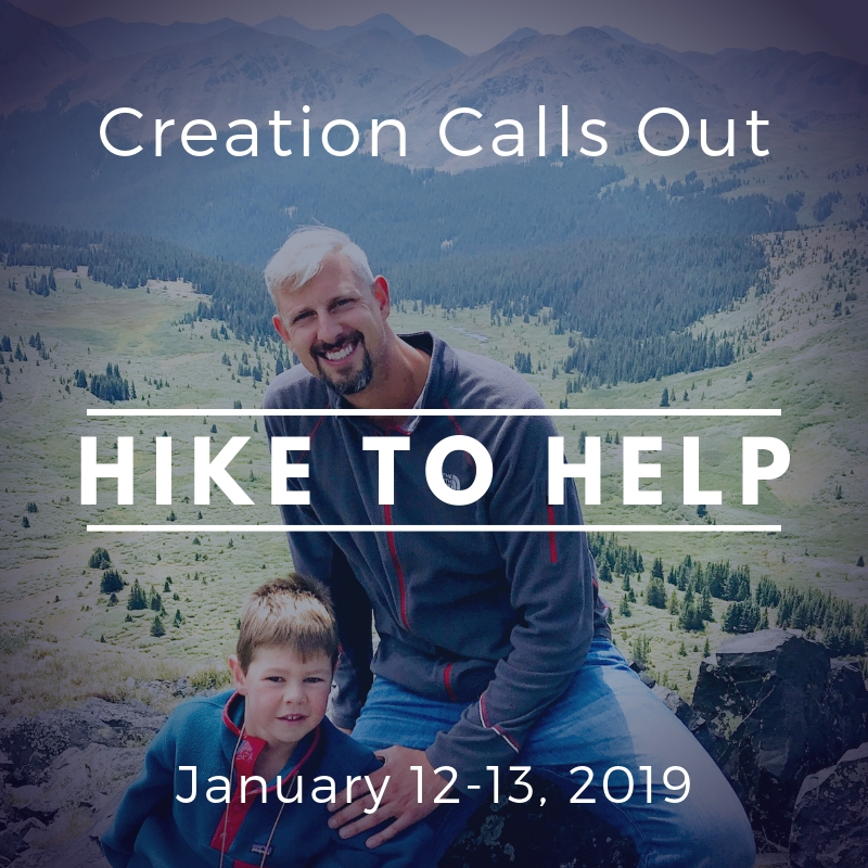 Creation Calls Out – Hike to Help 2019