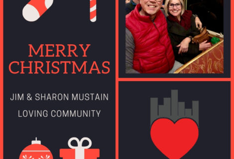 Merry Christmas 2018  from Jim & Sharon Mustain