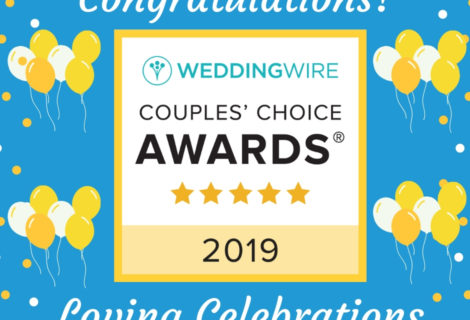 Loving Celebrations Receives Distinction in the 11th Annual WeddingWire Couples' Choice Awards®