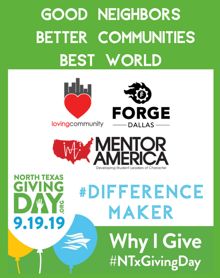 Today's the Day! North Texas Giving Day!